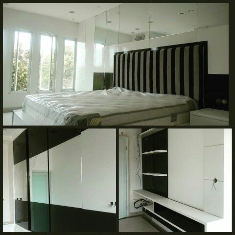 Master Bedroom Minimalist Design Entrancing Ar2 Design And Build Master Bedroom Interior Black And White Review