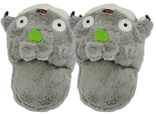 My Neighbor Totoro Plush Slippers Funluck http   smile.amazon.com  7d0942c6a