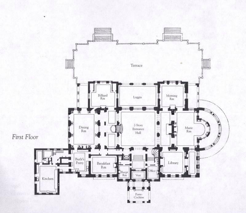 The Breakers 1st Floor Floor Plans Architectural Floor Plans How To Plan