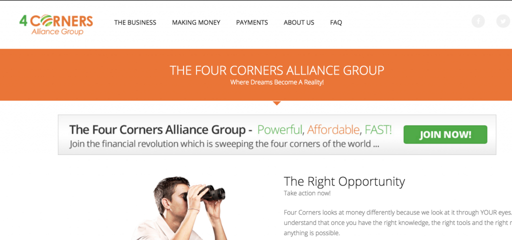 4 Corners Alliance Group Review Alliance, Scam, How to