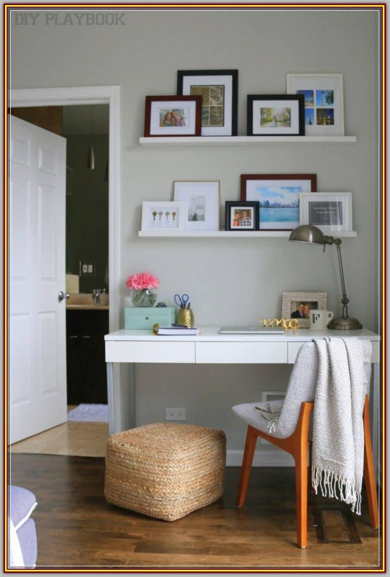 Furnish Your Home Office Decor With These Tips And Tricks Modern Interior Design Desk In Living Room Small Bedroom Desk Desks For Small Spaces