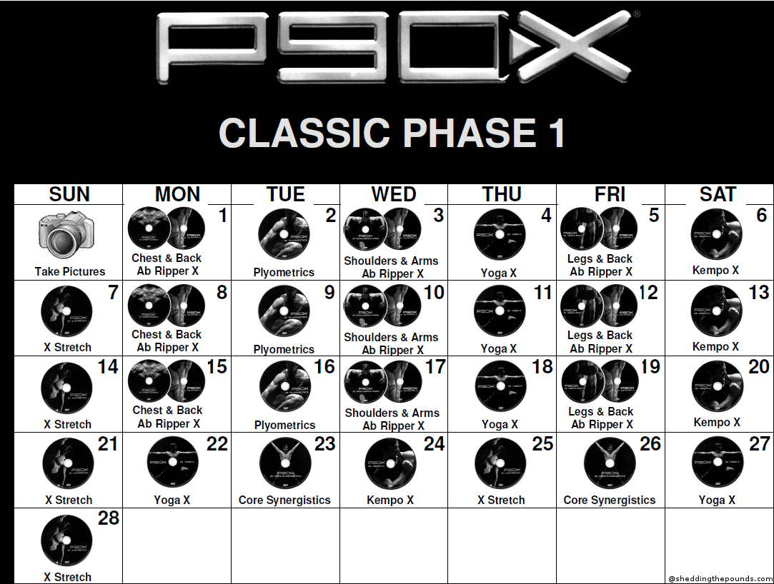 P90x Disk 1