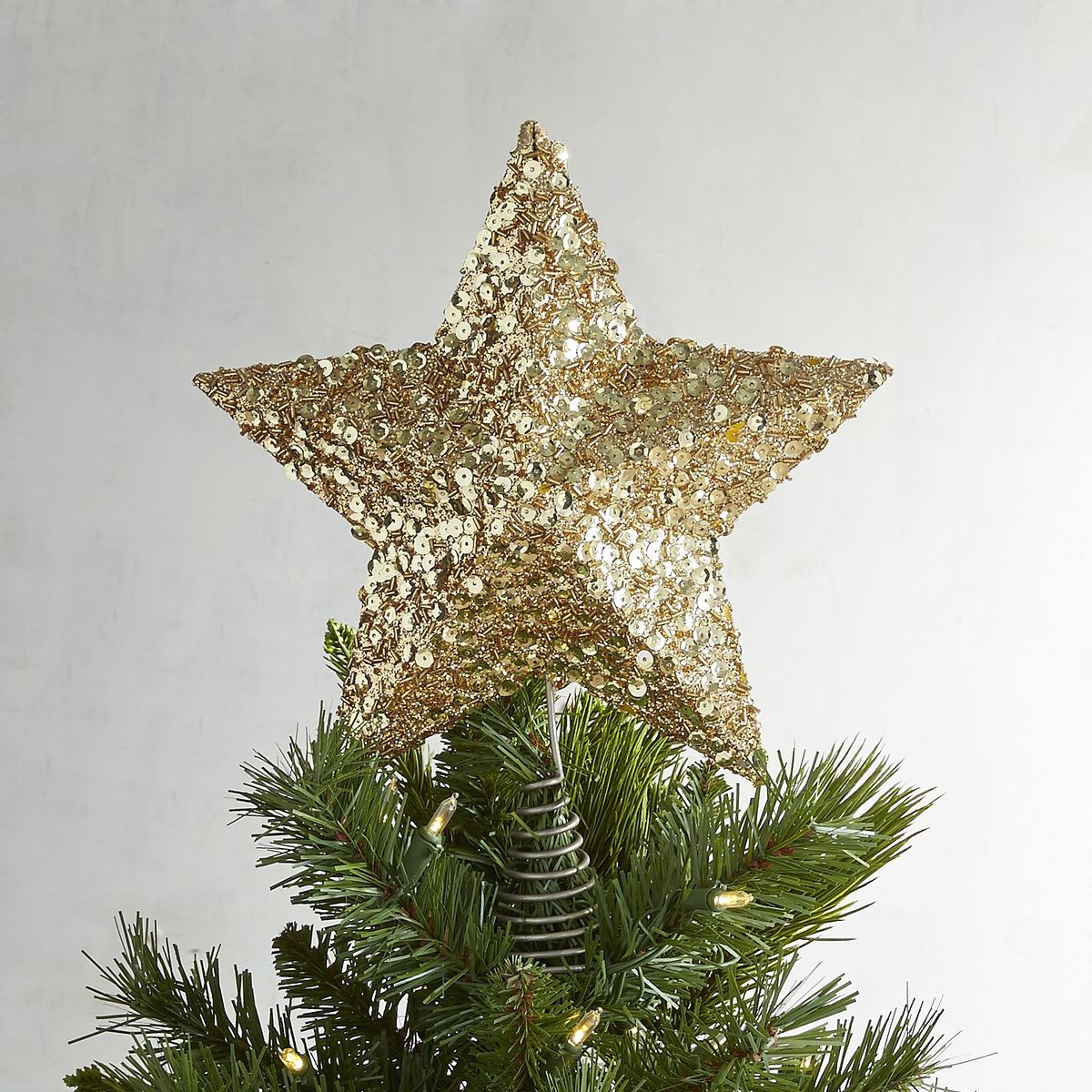 Pier One Christmas Trees.Gold Star Tree Topper Pier 1 Imports Christmas