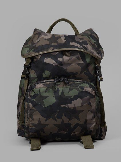 e69f466f0 VALENTINO Valentino Camouflage Star Backpack.  valentino  bags  nylon   backpacks