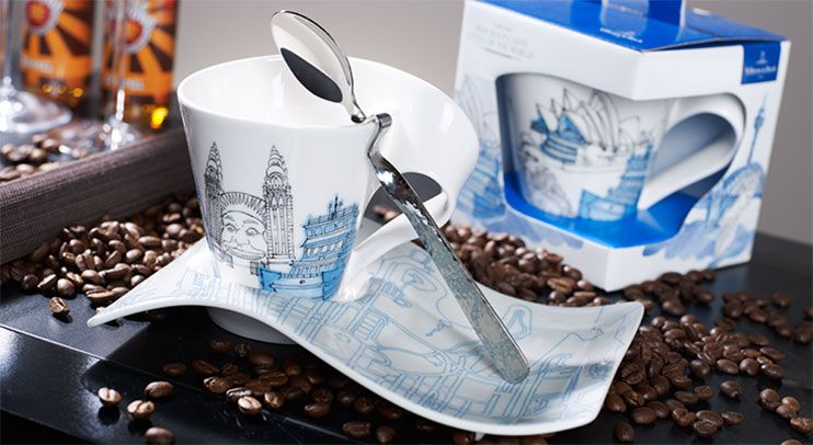 New Wave Caffe Cities Of The World Villeroy Boch Wave City