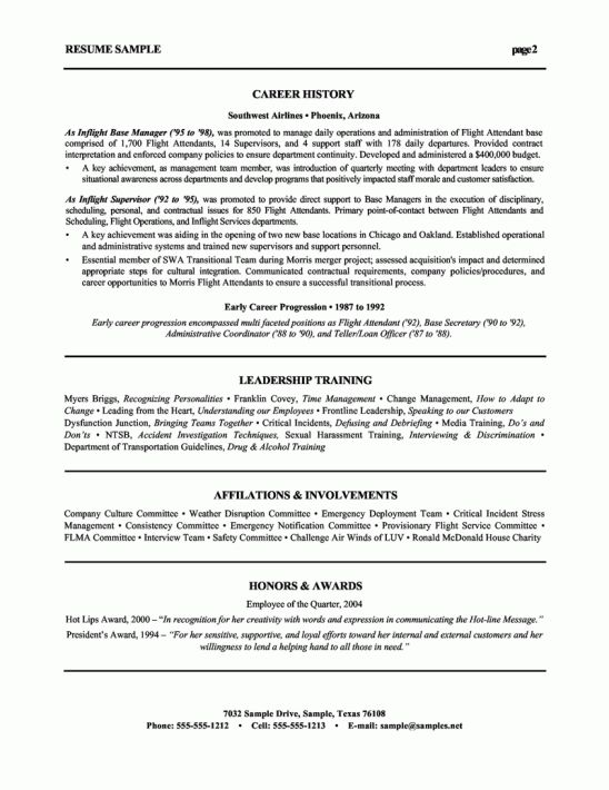 hvac resume objective examples \u2013 the best resume