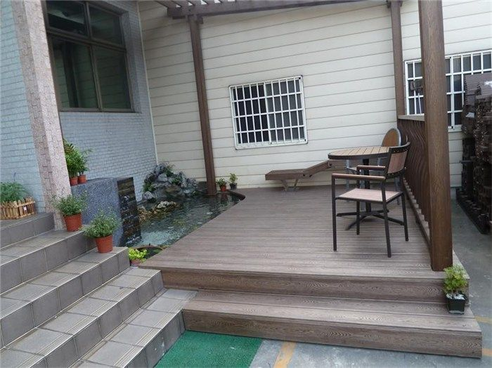 Removable Terrace Floor