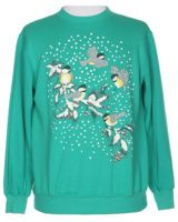 Green Christmas Sweatshirt - M