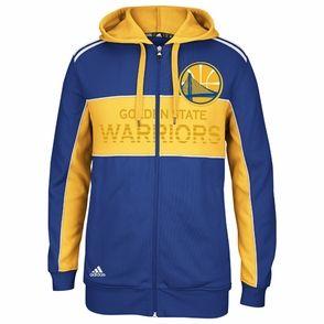 Golden State Warriors adidas Der auserwählte 3 Streifen Full Zip Hoody