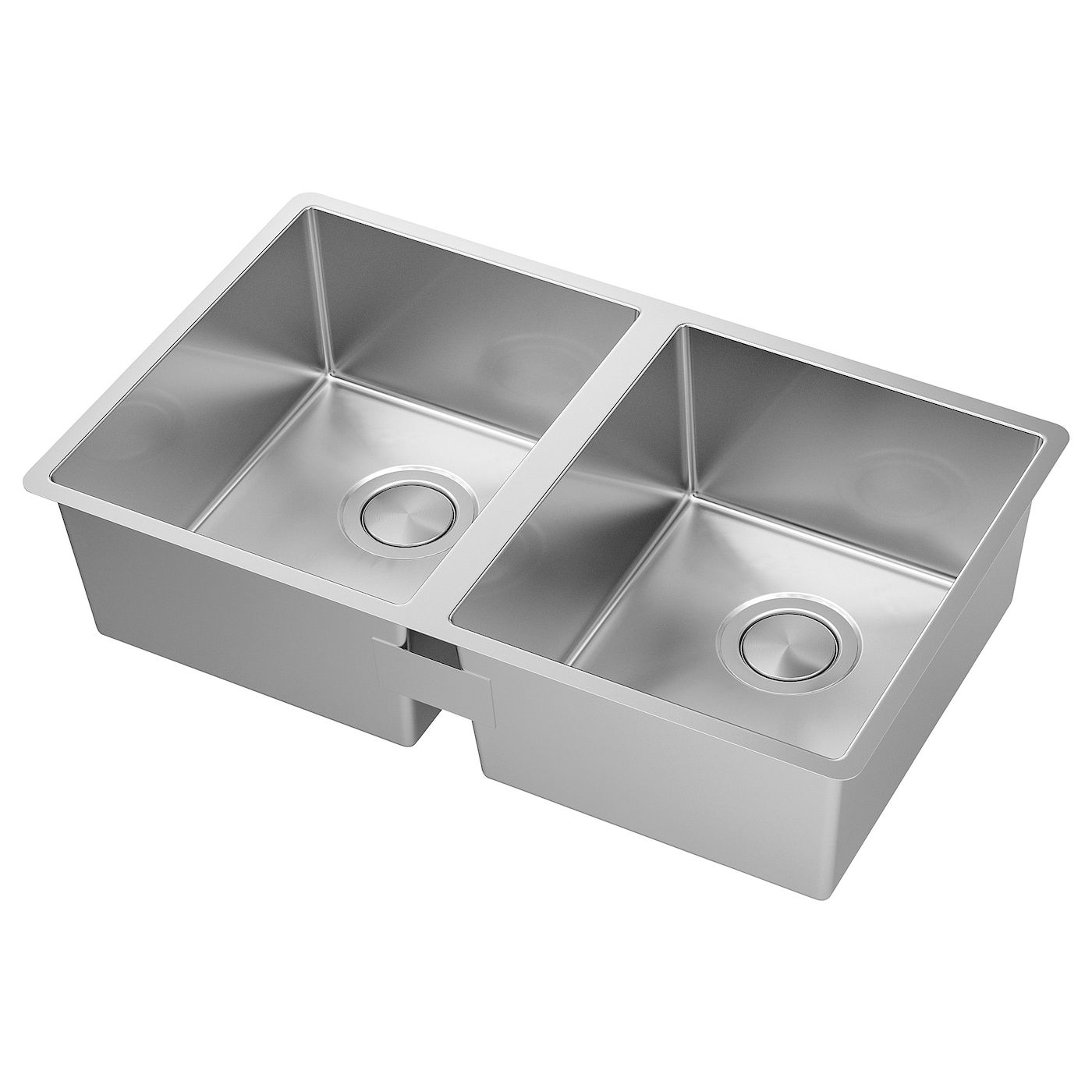 Norrsjon Double Bowl Dual Mount Sink Stainless Steel 28 3 4x17 3