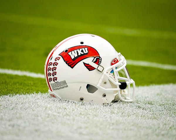 Pin By Beer Loves Bowling Green On Hilltoppers Football Helmets Football College Football Helmets