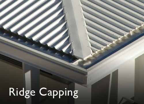 Steel Roofing Ridge Capping Flashing Stratco Com Au