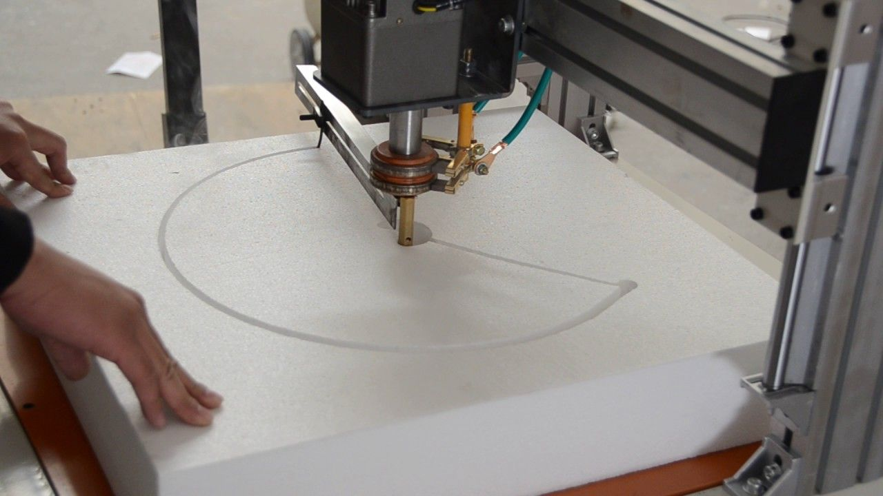 CNC Hot Wire Foam Cutting Machine | CNC Hot Wire Foam Cutter ...