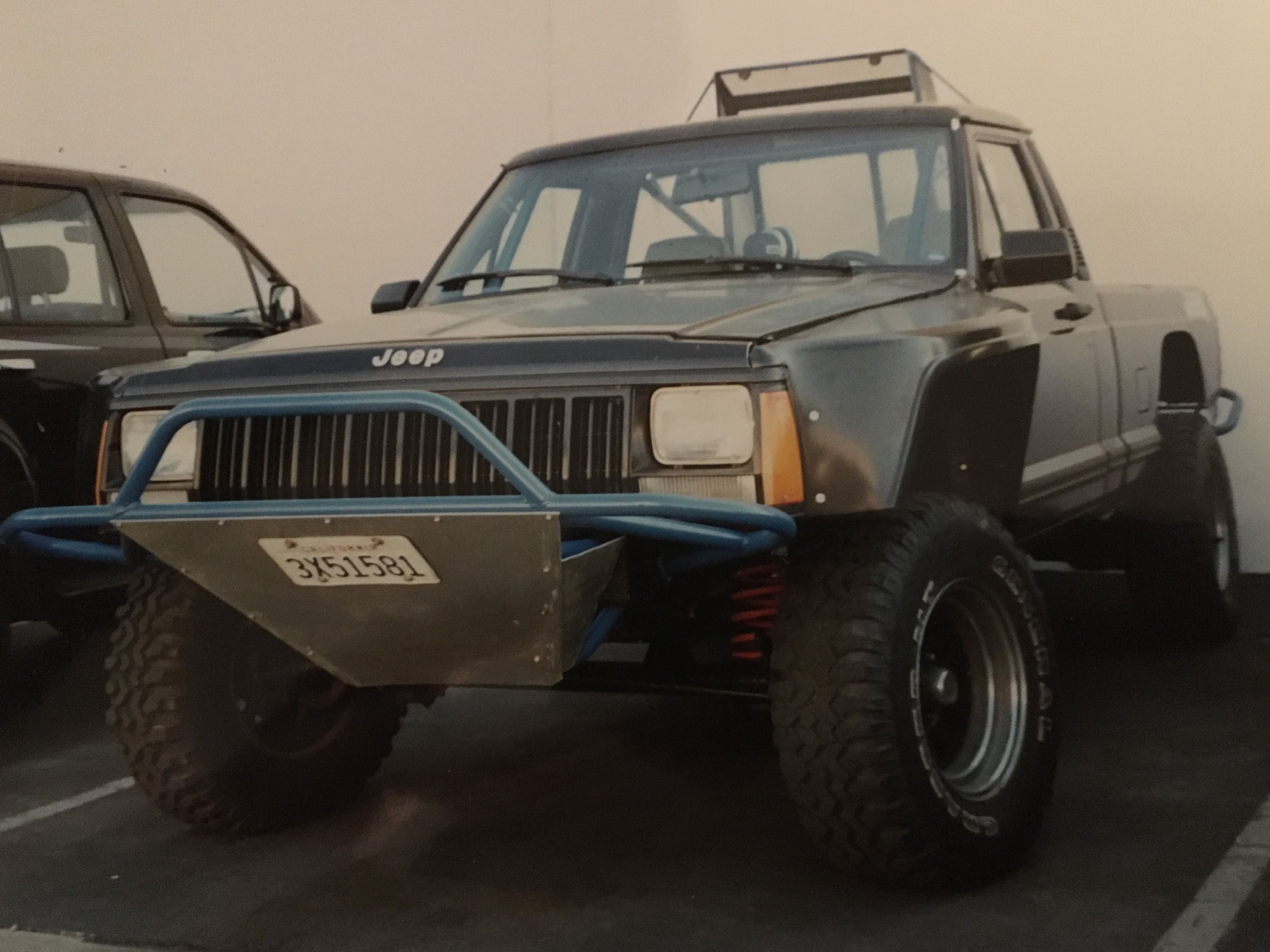 Preserved Pioneer: 1989 Jeep MJ Comanche Long Bed 4×4