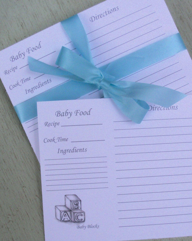 recipe cards baby food recipe cards alphabet block recipe cards baby block recipe