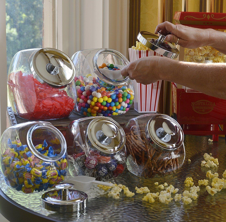 Anchor hocking 1gallon penny candy jar set