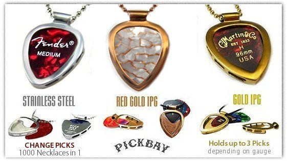 Guitar pick necklaces collectible plectrums pick holder guitar pick necklaces collectible plectrums pick holder pendants pickbay aloadofball Image collections