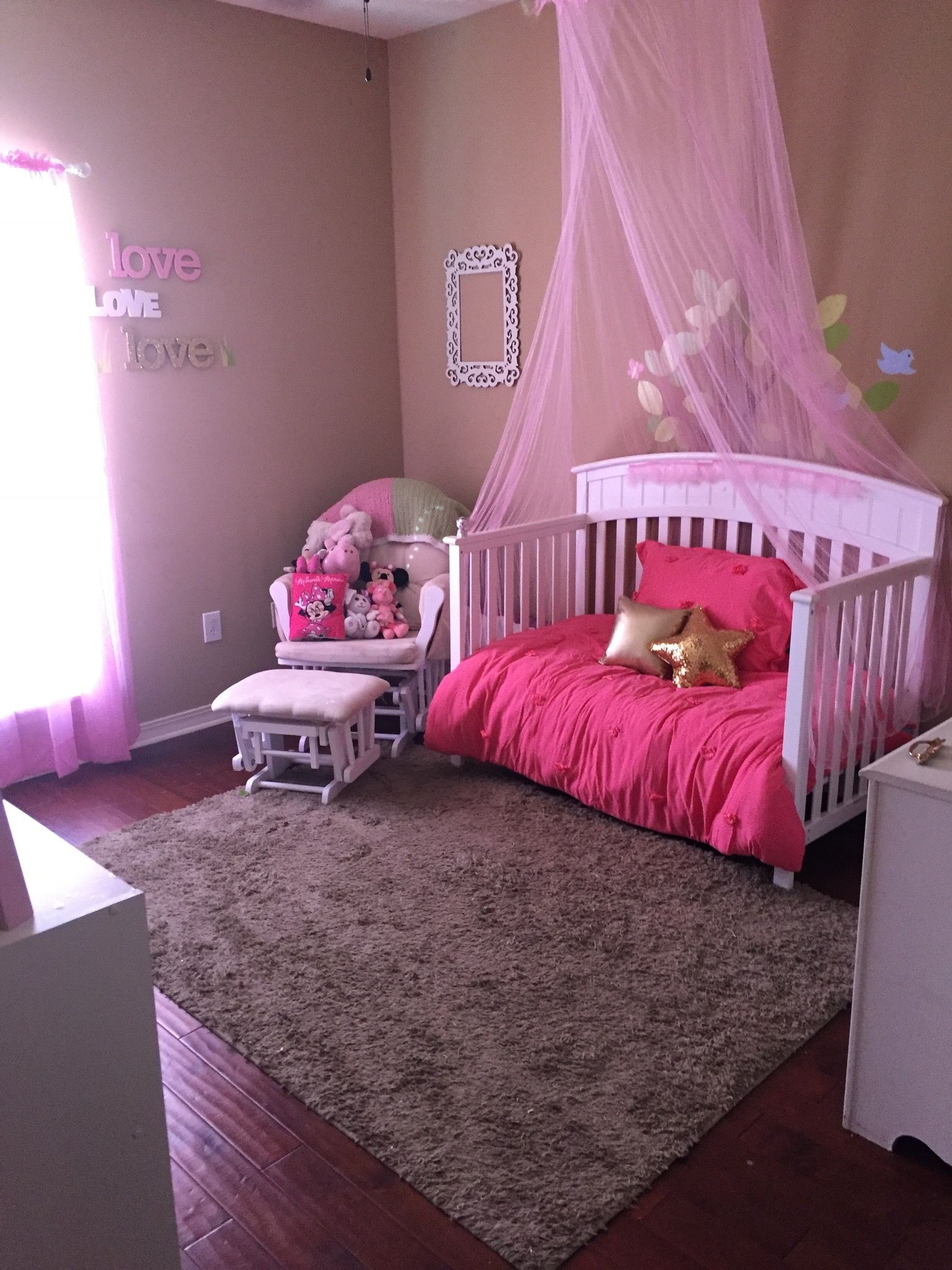 Princess Bedroom Toddler Girls Bedroom Diy Pink Love Www Ontheatrain Com Toddler Room Decor Princess Room Decor Diy Girls Bedroom