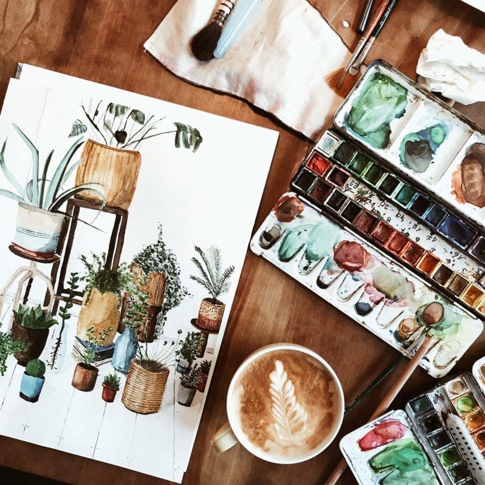 Photo of Pflanzen zeichnen – in 5 Schritten zum Ziel – lolartstudio.