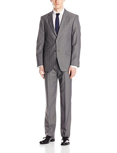 Tommy Hilfiger Men's Bowman 2 Button Side Vent Suit with Flat Front Pant  http://www.allmenstyle.com/tommy-hilfiger-mens-bowman-2-button-side-vent-suit-with-flat-front-pant/