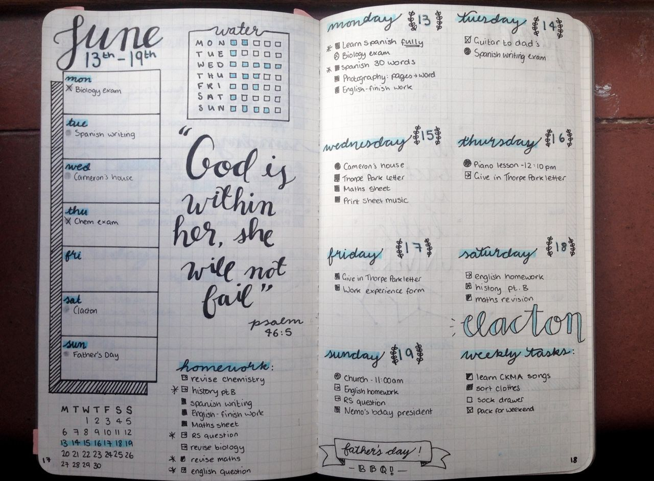 Tumblr Bullet journal, Study tips, Eyam
