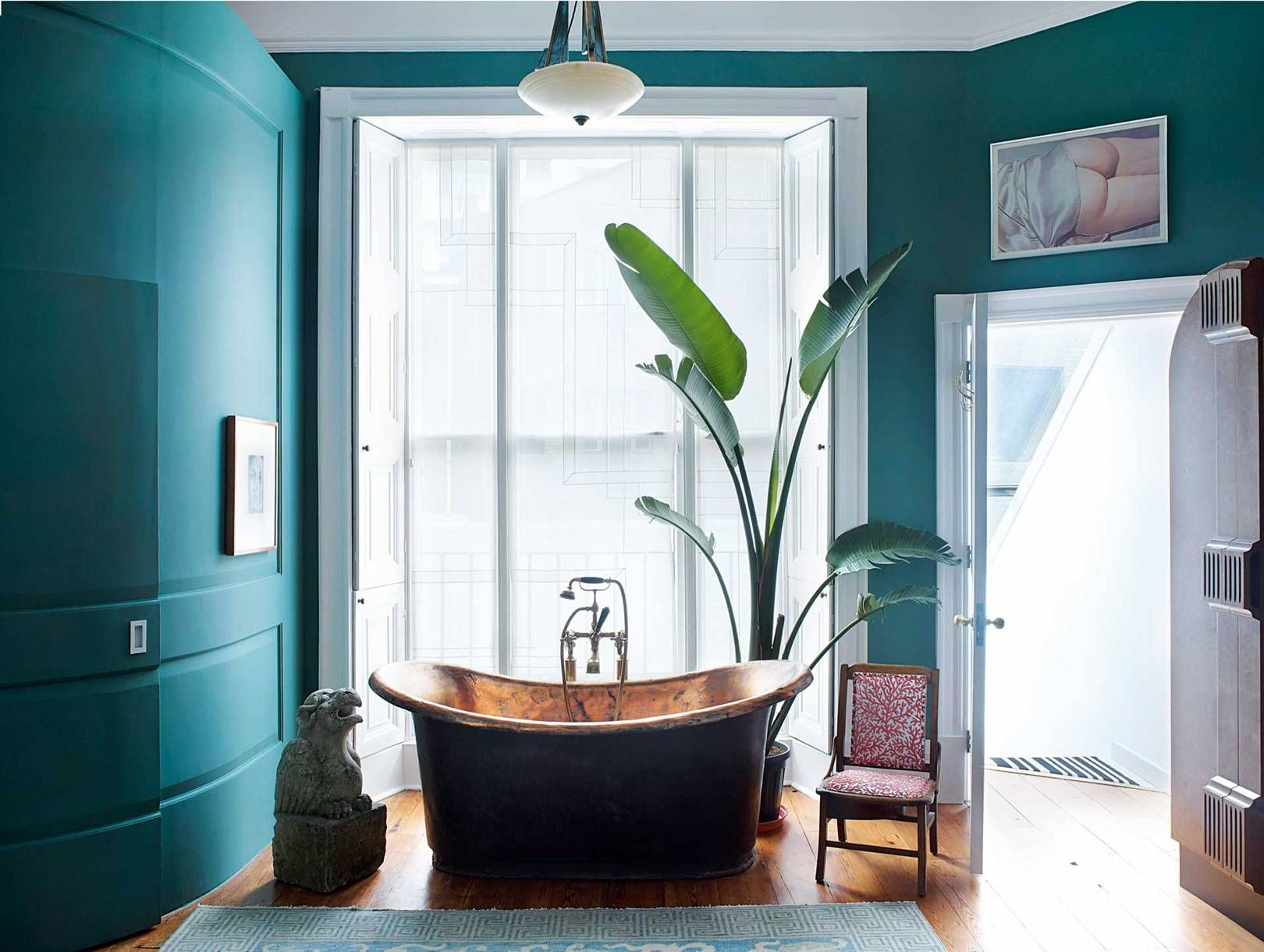 The Most Envy-Inducing Bathrooms In Vogue | Home | Copper