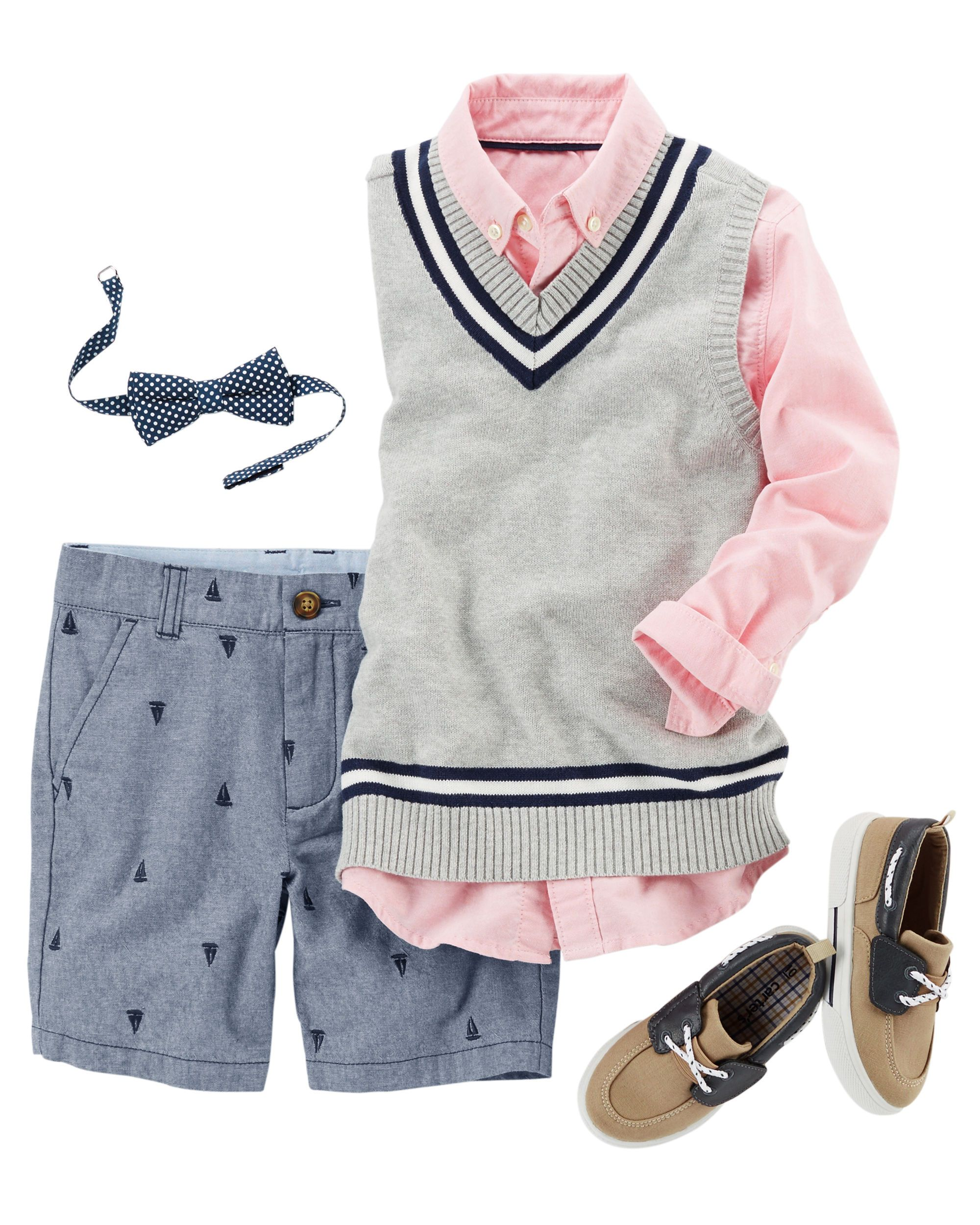 A cozy sweater vest looks handsome over a classic button-front ...