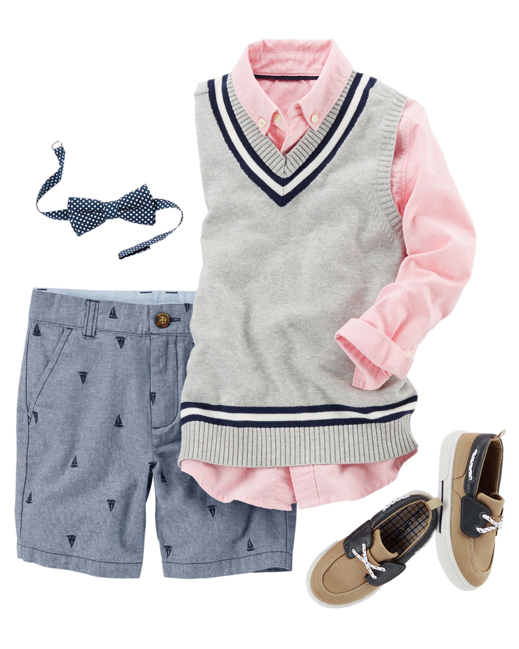 bea2398c Kid Boy CARJAN6KS17 | Carters.com | Spring17 | Kids fashion boy ...