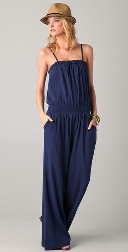 loving these one piece pant jumpsuits for summer.