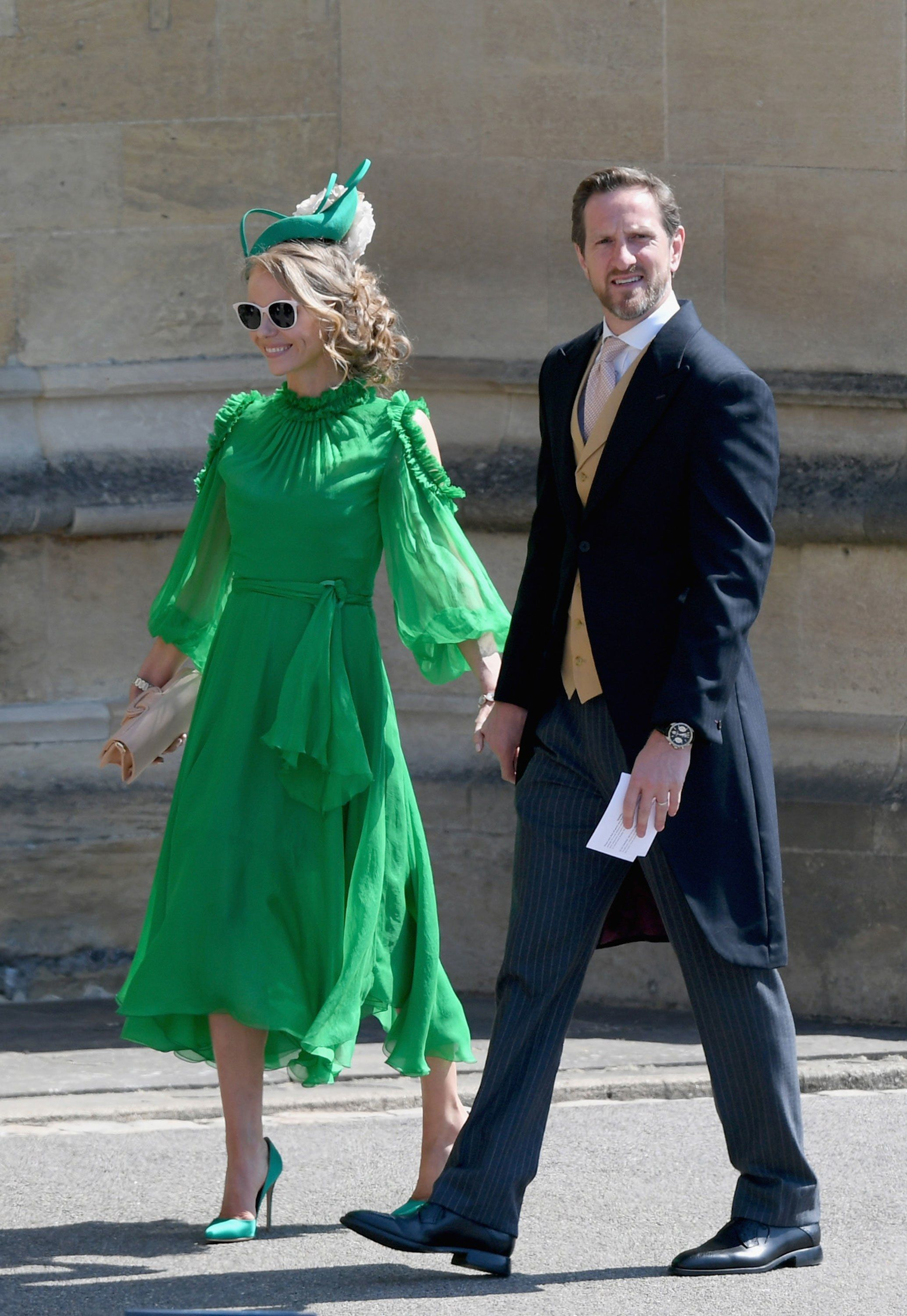 The Must See Moments From The Royal Wedding Royal Wedding Guests Outfits Prince Harry Wedding Guest Outfit [ 3000 x 2068 Pixel ]