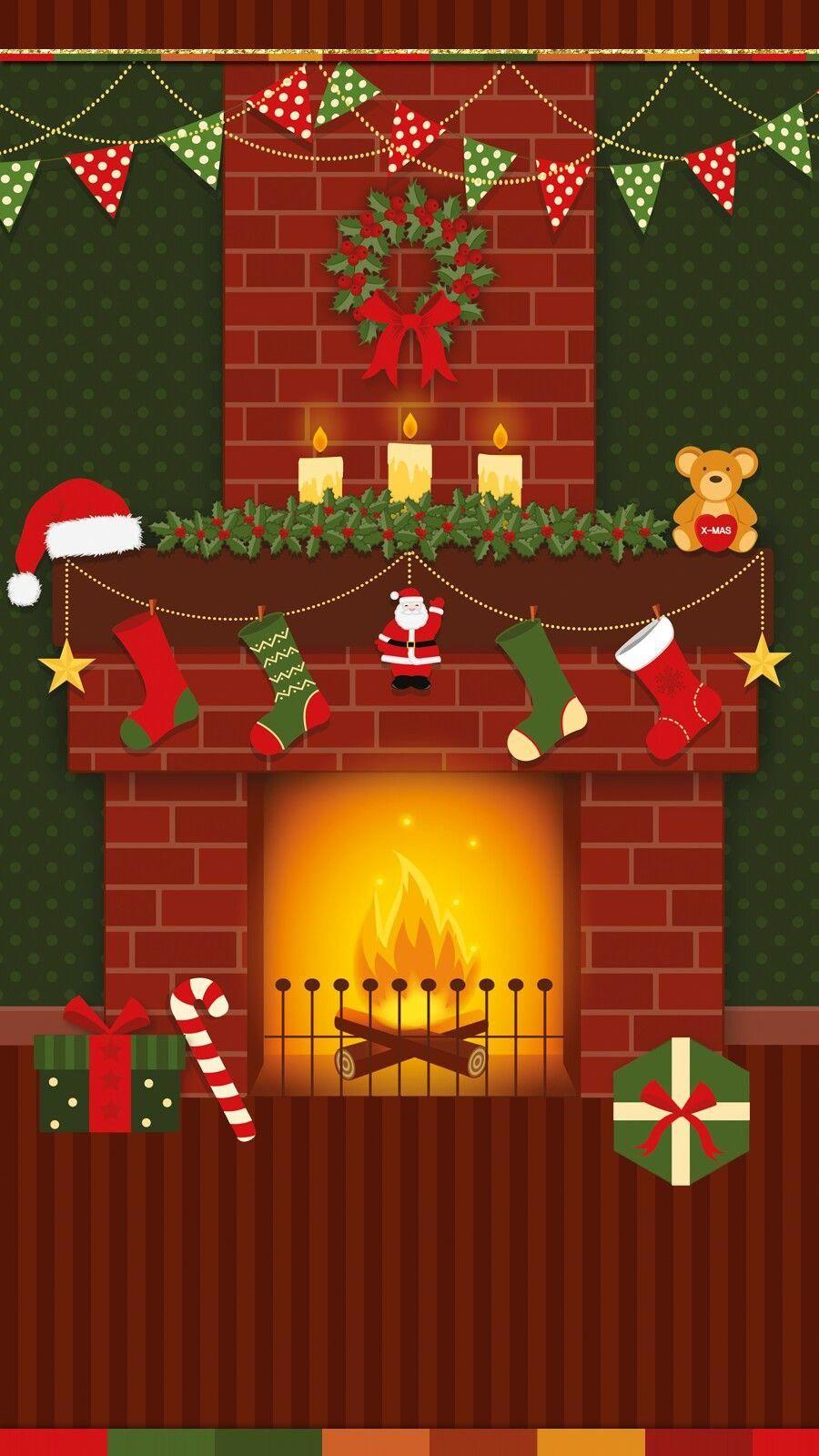 Santa Claus Wallpaper Iphone Theme Happy Holiday