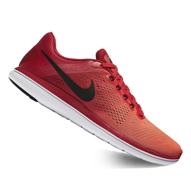 nike free run 2016 men's red