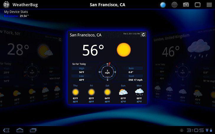 WeatherBug App Best weather app, Weather data, Weather