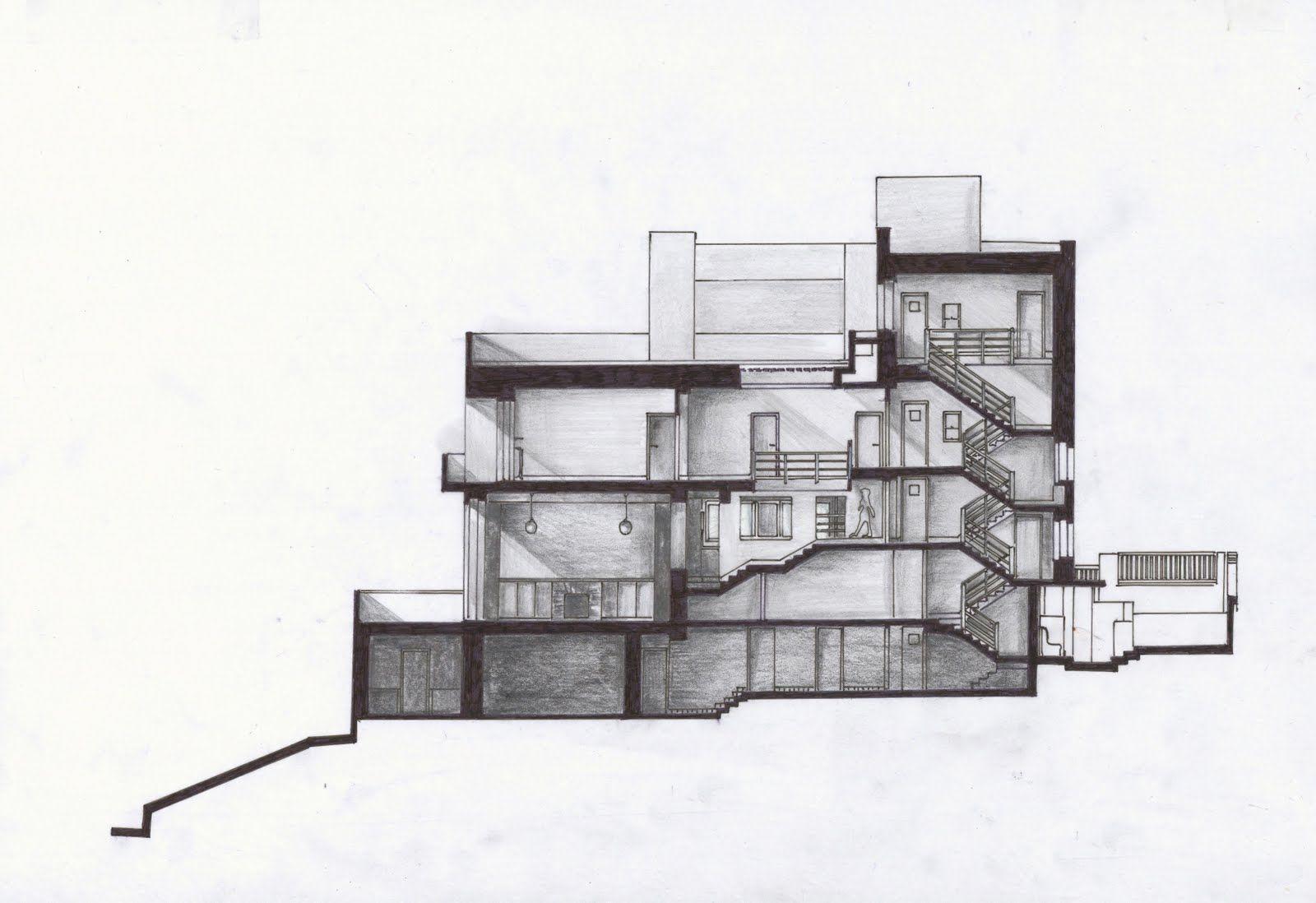 Arch1201 villa muller pesquisa google baugeschichte 1 for Uni architektur