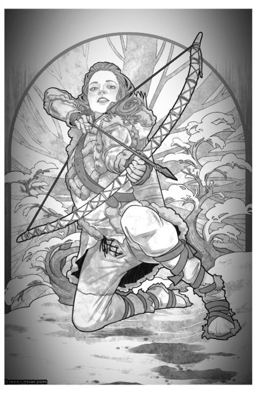 Coloring Pages Colouring Books Great Ideas Tauriel Game Of Thrones Sci Fi Illustrator