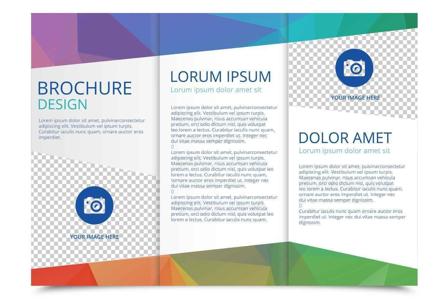 The Surprising 010 Brochure Templates Word Free Tri Fold Vector Template With Regard To Free Brochure Template Free Brochure Template Brochure Design Template