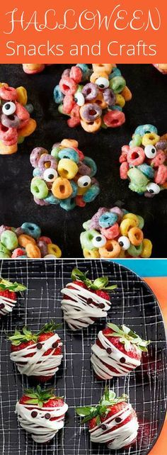 11 Halloween Snacks and Crafts Perfect for a Class Party
