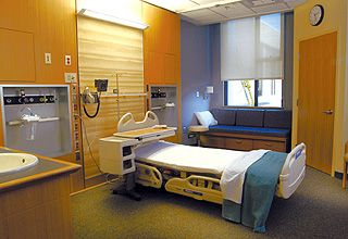 New hospital design guidelines call for 120 square feet of for 120 square feet room