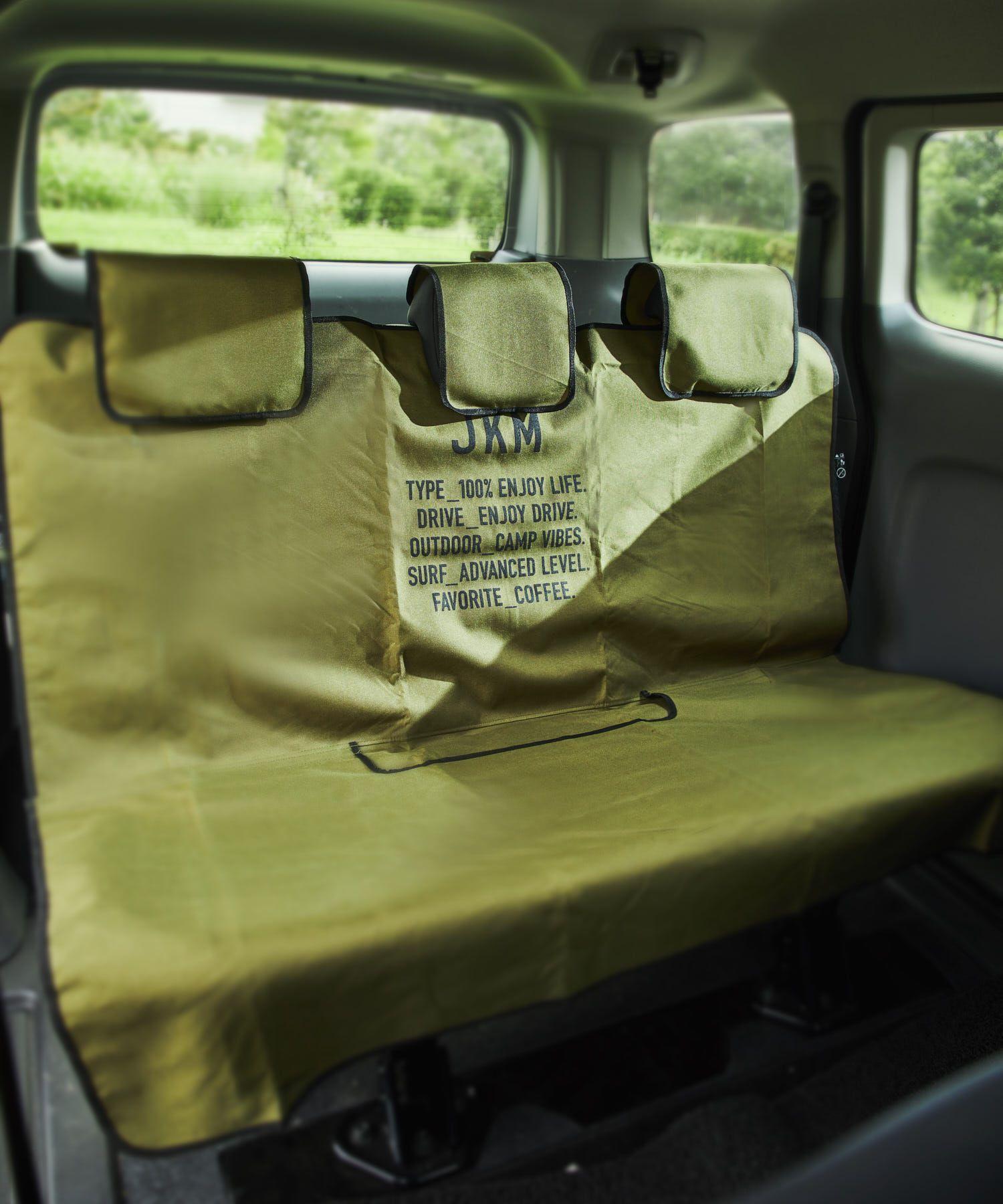 シート汚れ防止に 取り付けが簡単なシートカバーシート汚れ防止に 取り付けが簡単なシートカバー水や汚れからお車のシートを保護してくれる リア用の防水シート カバーです アウトドアやサーフィン マリンスポーツをする方におすすめです 飽きのこないシンプルな