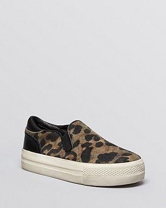 de2669838c00 Ash Slip On Platform Sneakers - Jungle