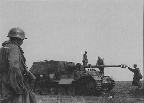 Destroyed SdKfz184