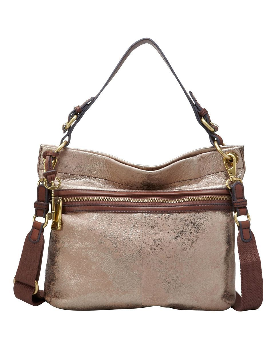 love this bag! Fossil Explorer Hobo Bag - Metallic | BAGS & PURSES ...