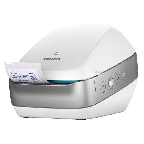 Labelwriter Wireless White Label Printer 71 Four Line Labels Min Label Printer Wireless Printer Thermal Label Printer