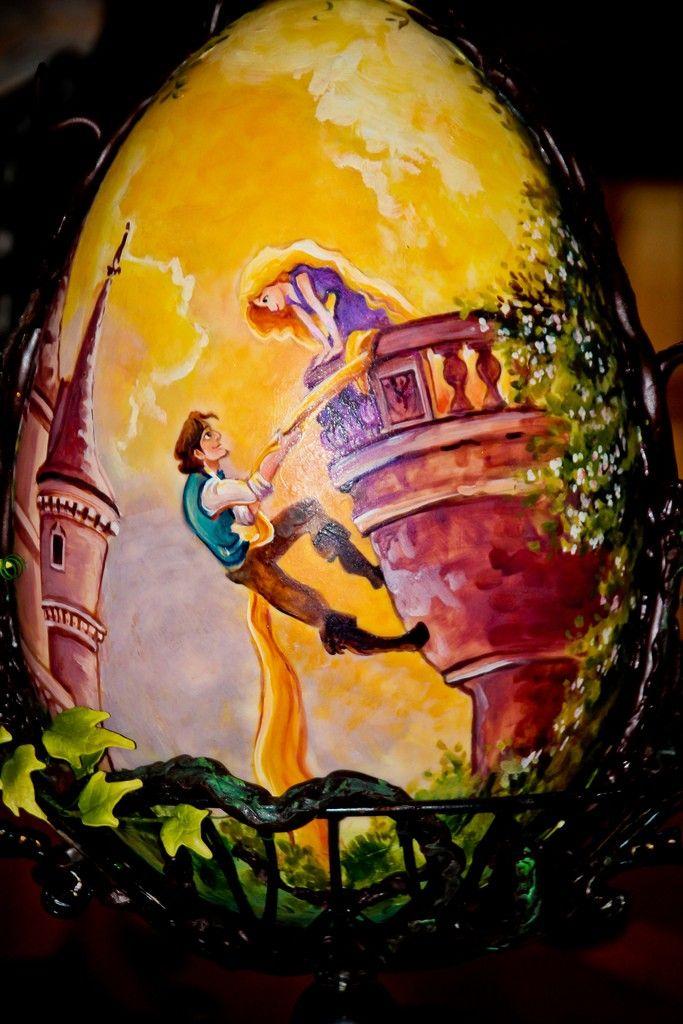 Printable Rapunzel Easter Egg Disney Crafts For Kids DIY Holiday Craft Ideas