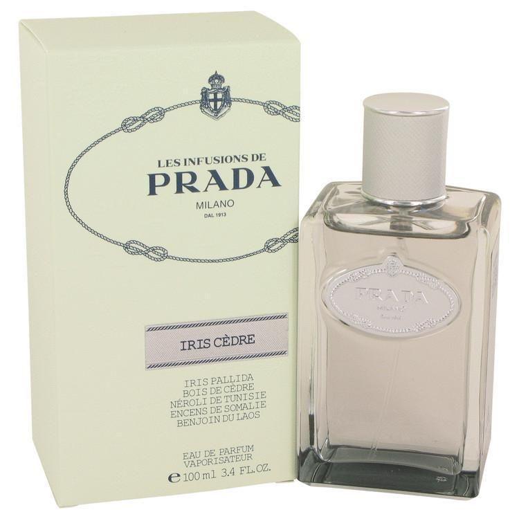 2e7806af34344 Prada Infusion D Iris Cedre by Prada Eau De Parfum Spray (Unisex) 3.4 oz