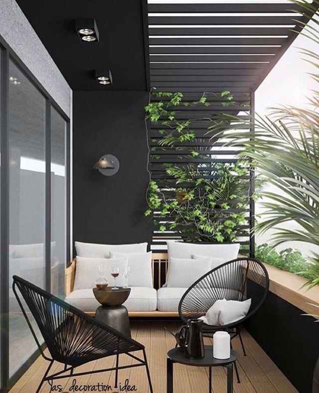 Es ist an der Zeit, dass Sie Ihr Zuhause neu gestalten und Ihrem Zuhause einen neuen Glanz ve... #kleinerbalkon