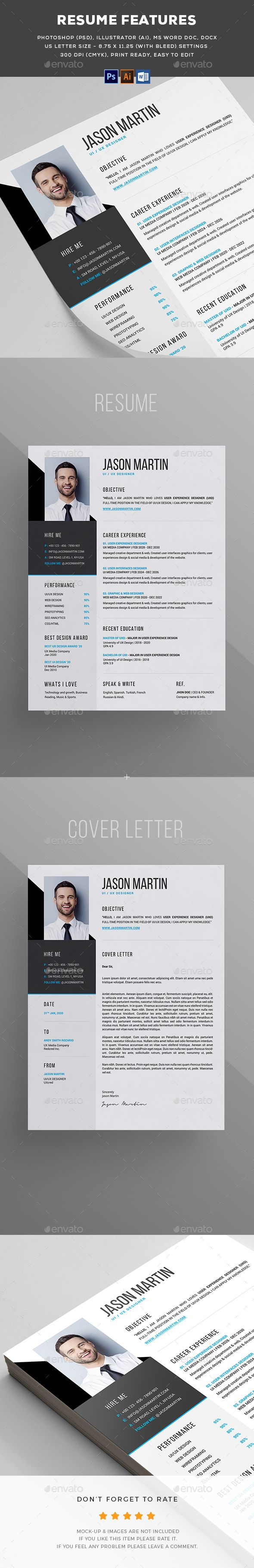 Resume Template Resume Cv And Simple Resume