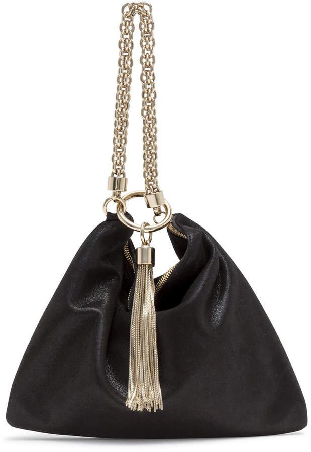9f04fef49 Callie Black Suede Clutch Bag in 2019 | purses | Bags, Black suede ...