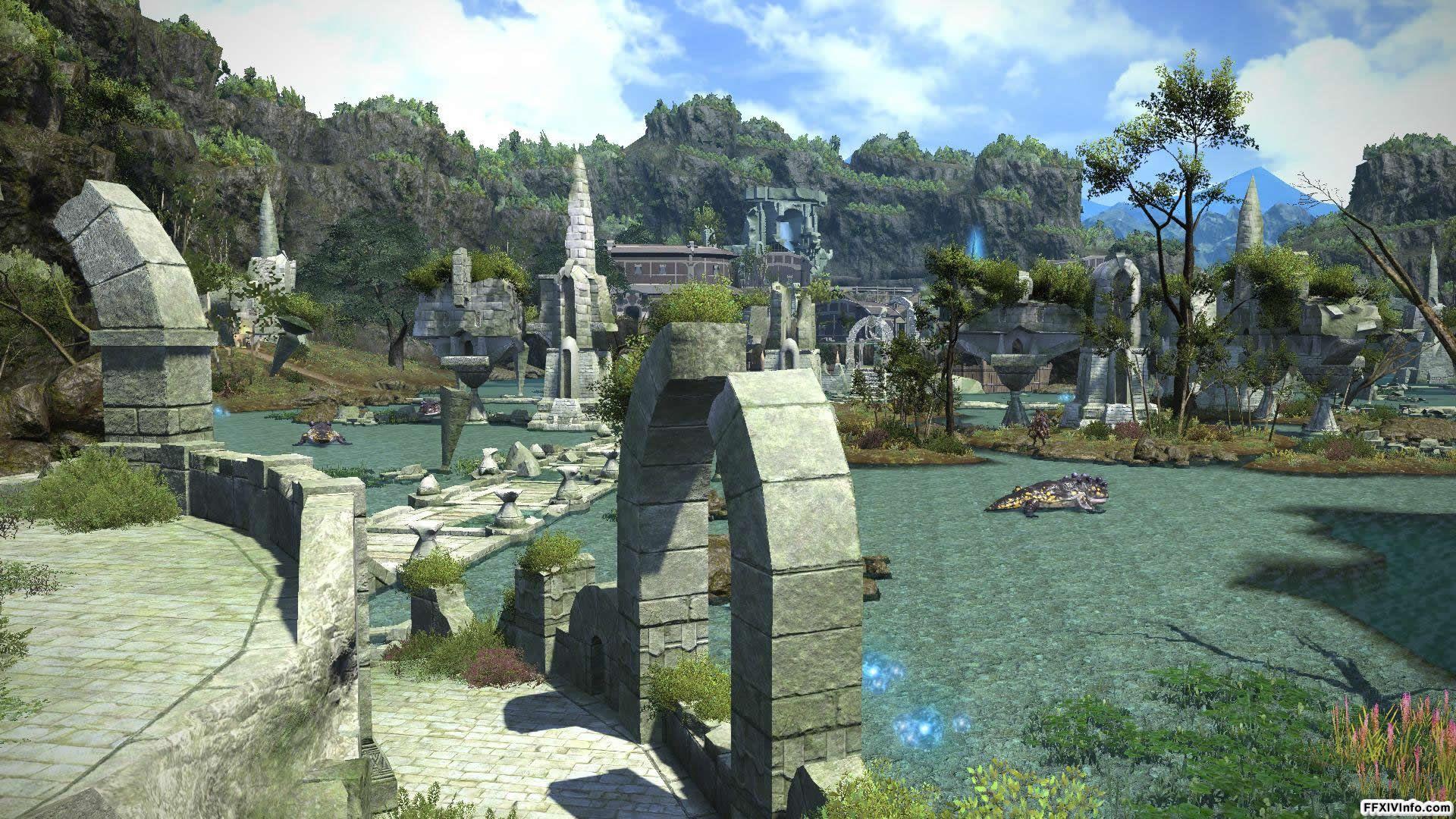 FFXIV A Realm Reborn - Maps | Final Fantasy XIV: A Realm Reborn ...