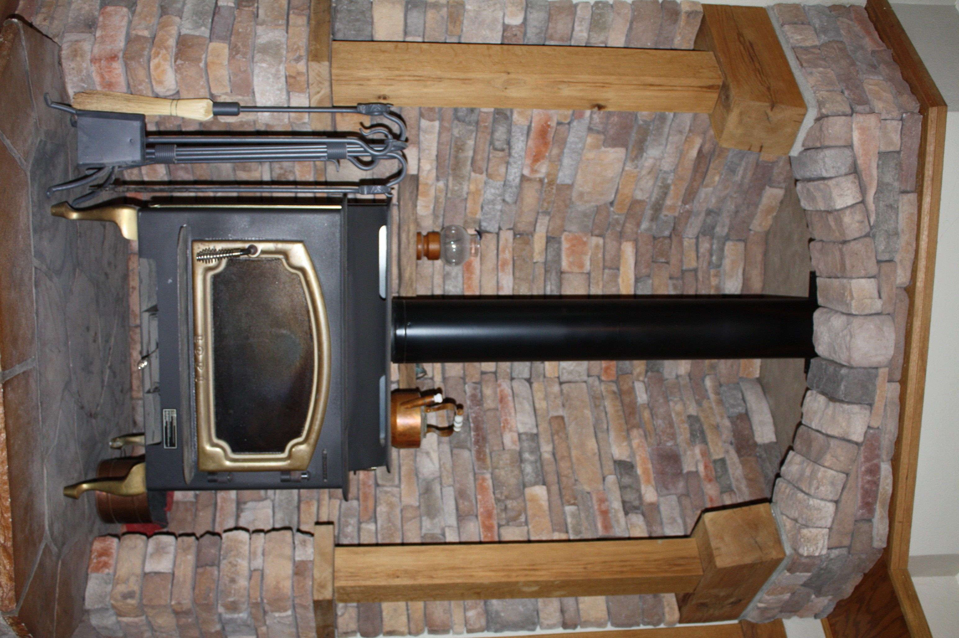 Wood stove mantel images you can add a classically